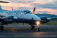 N32SV @ KORE - Sunset at Orange, MA - by Dave G