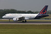 OO-SSG @ EBBR - Brussels Airlines - by Jan Buisman