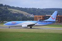 G-TAWJ @ EGTE - Just landed at Exeter.