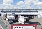 17AAT @ LFPB - ICP MXP-740 Savannah S of Asman as carrier of surveillance sensors at the Aerosalon 2019, Paris