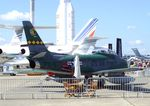 F-AYSB @ LFPB - Canadair CL-13B Sabre 6 (F-86) at the Aerosalon 2019, Paris