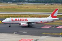 OE-LOB @ EDDL - Lauda A320 back in DUS - by FerryPNL