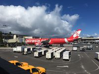 9M-XXY @ HNL - At the gate at HNL - by Arthur Tanyel