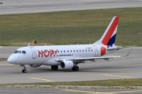 F-HBXF @ LFML - Embraer ERJ-170-100ST 170ST, Taxiing to holding point rwy 31R, Marseille-Provence Airport (LFML-MRS) - by Yves-Q