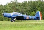 F-AZRP @ LFFQ - Morane-Saulnier MS.733 Alcyon at the Meeting Aerien 2019, La-Ferte-Alais - by Ingo Warnecke