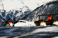 OE-LLS @ LFLJ - Approaching the apron ridge, ready to depart. Image taken by Mr. Wieser, ATCO from Innsbruck. - by Hotshot