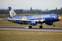 D-ABDQ @ LOWW - Colourful Europapark advertisement livery touches down - by Hotshot