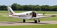 N9555C @ 21D - Taxiing to runway 32 at Lake Elmo. - by chilito