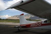 N180HS @ TVY - N180HS at Tooele Valley Airport, UT