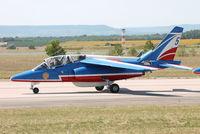 E146 @ LFSO - at Nancy Airshow - by B777juju