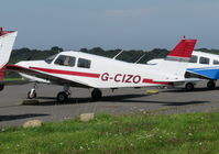G-CIZO @ EGKB - Cadet at Biggin Hill operated by Falcon Air Services - by Chris Holtby