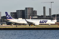 SP-LMA @ EGLC - Just landed at London City Airport.