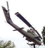 68-15054 - Bell AH-1S Cobra at the Vietnam Memorial, Big Spring TX