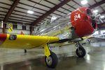 N3653G @ KMAF - Noorduyn AT-16 (T-6) Harvard IIB N at the Midland Army Air Field Museum, Midland TX