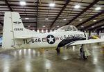 N70743 @ KMAF - North American T-28A Trojan at the Midland Army Air Field Museum, Midland TX