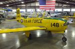 N12253 @ KMAF - Beechcraft T-34A Mentor at the Midland Army Air Field Museum, Midland TX