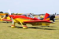 G-RVDB - Just landed at, Bury St Edmunds, Rougham Airfield, UK.
