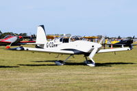 G-CDRV - Just landed at, Bury St Edmunds, Rougham Airfield, UK.