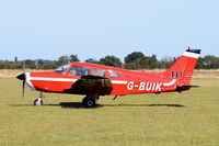 G-BUIK - Just landed at, Bury St Edmunds, Rougham Airfield, UK.