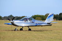 G-CFCT - Just landed at, Bury St Edmunds, Rougham Airfield, UK.