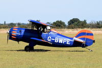 G-BWPE - Just landed at, Bury St Edmunds, Rougham Airfield, UK.