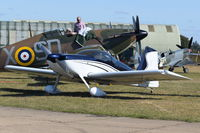 G-OJLD @ EGSU - Parked at Duxford.