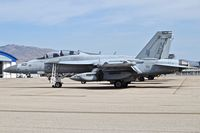 168272 @ KBOI - Parked on the north GA ramp. VAQ-136, CVW@, USS Carl Vinson. - by Gerald Howard