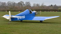 G-AYEG @ EGTH - 2. G-AYEG at The Shuttleworth Collection, March, 2019.