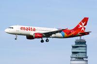 9H-AEK @ LOWW - Air Malta Airbus A320 - by Thomas Ramgraber