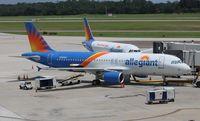 N282NV @ KSFB - Allegiant Air - by Florida Metal