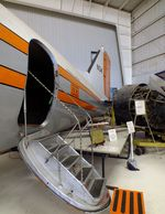 N34 @ KAMA - Douglas DC-3C (formerly Federal Airways Flight Inspection) at the Texas Air & Space Museum, Amarillo TX