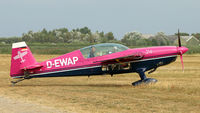 D-EWAP @ EHTX - Going out for his performance during Texel Air Show - by Gert-Jan Vis