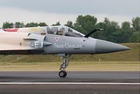 43 @ LFSI - Dassault Mirage 2000-5F, Taxiing rwy 29, St Dizier-Robinson Air Base 113 (LFSI) Open day 2017 - by Yves-Q
