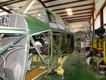 N1131Z @ F49 - Funk F-23A, converted to represent a Mitsubishi Ki-51 SONJA, awaiting repair at the Texas Air Museum Caprock Chapter, Slaton TX