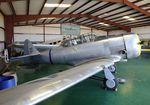 N5557V @ F49 - North American AT-6G Texan at the Texas Air Museum Caprock Chapter, Slaton TX