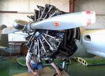 N16CL @ F49 - Beechcraft E18S Twin Beech, undergoing maintenance at the Texas Air Museum Caprock Chapter, Slaton TX