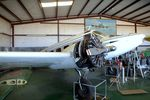N16CL @ F49 - Beechcraft E18S Twin Beech, undergoing maintenance at the Texas Air Museum Caprock Chapter, Slaton TX