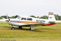 N7029V @ KOSH - Mooney M20F Executive  C/N 22-1376, N7029V