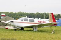 N201NJ @ KOSH - Mooney M20J 201  C/N 24-0252, N201NJ