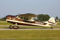 N9826A @ KOSH - Cessna 195Businessliner  C/N 7505, N9826A - by Dariusz Jezewski www.FotoDj.com