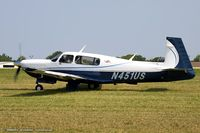 N451US @ KOSH - Mooney M20R Oviation  C/N 29-0437, N451US