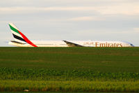 A6-ENE @ LOWW - Emirates Boeing 777-300 - by Thomas Ramgraber