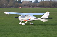 G-CTDW @ EGLM - Flight Design CTSW at White Waltham.
