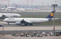 D-AIKB @ EDDF - Airbus A340-343X