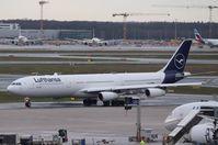 D-AIGU @ EDDF - Airbus A340-313