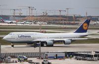 D-ABYO @ EDDF - Boeing 747-830