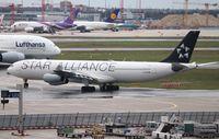 D-AIFE @ EDDF - Airbus A340-313X