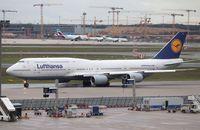 D-ABYI @ EDDF - Boeing 747-830