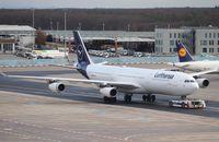 D-AIGX @ EDDF - Airbus A340-313X