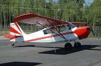 N87031 @ IYS - Bellanca at Wasilla airport AK - by Jack Poelstra